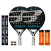 Pack Duo Bullpadel X-Compact LTD Silver