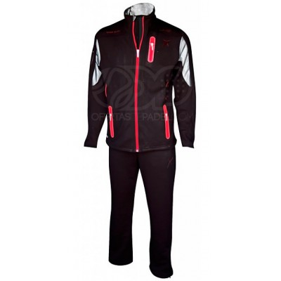 Chandal Drop Shot Baruc Negro / Rojo