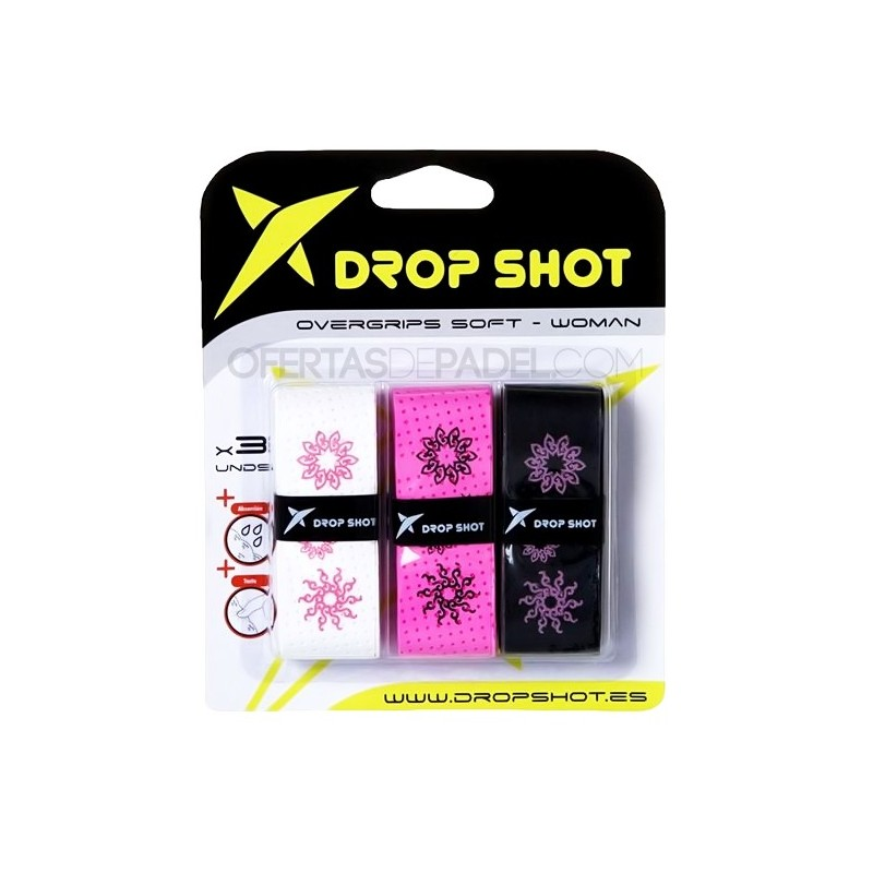 Blister de 3 Overgrips Drop Shot Soft Woman