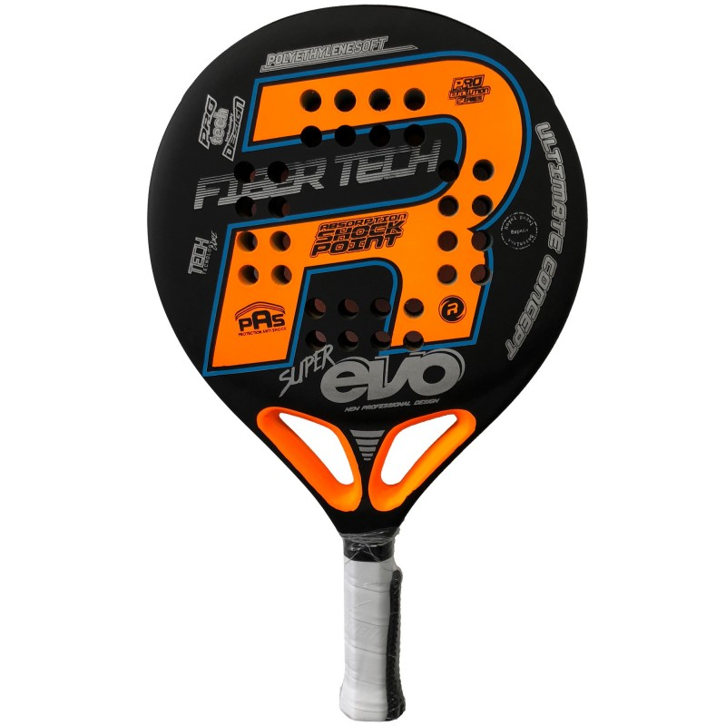 Pala de pádel Royal Padel Super Evo Orange 2018