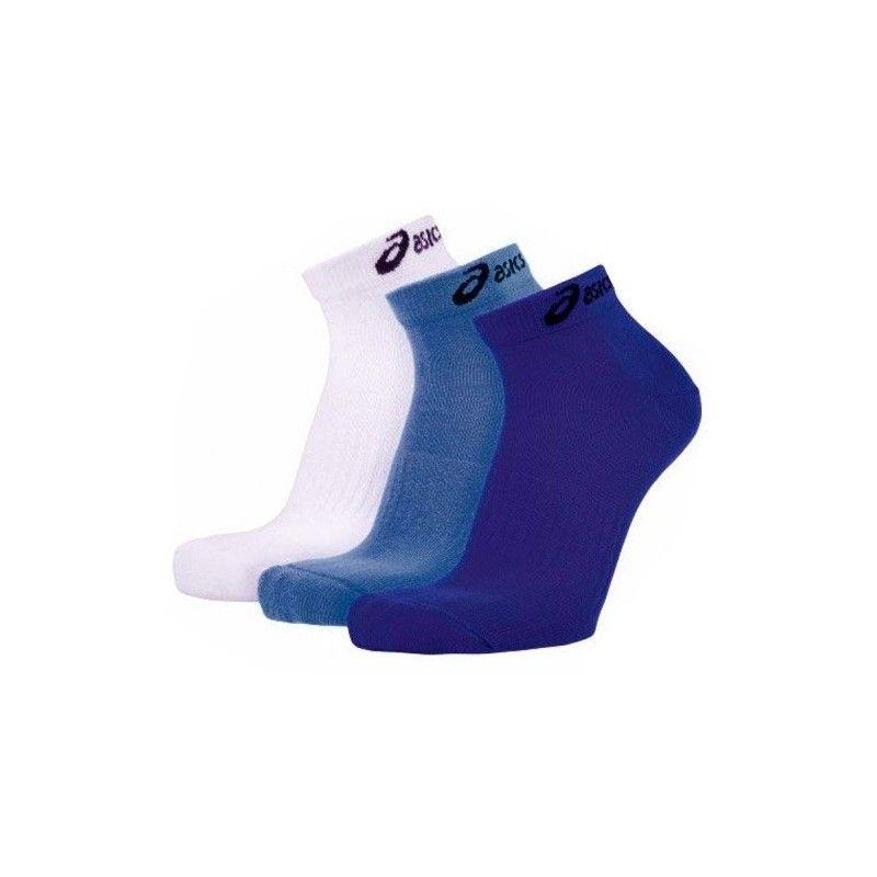 Pack 3 pares de calcetines Asics Ped Mix