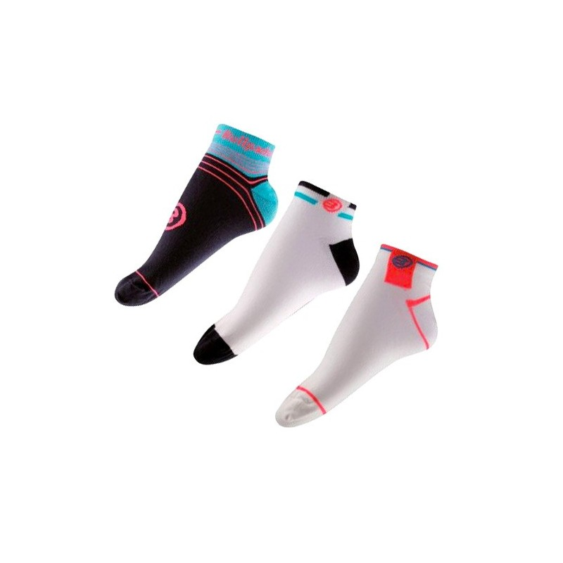 Pack de 3 pares de calcetines Bullpadel BP1404