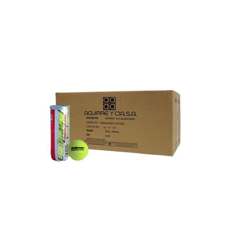 Cajón de 24 botes de pelotas BullPadel Premium Pro