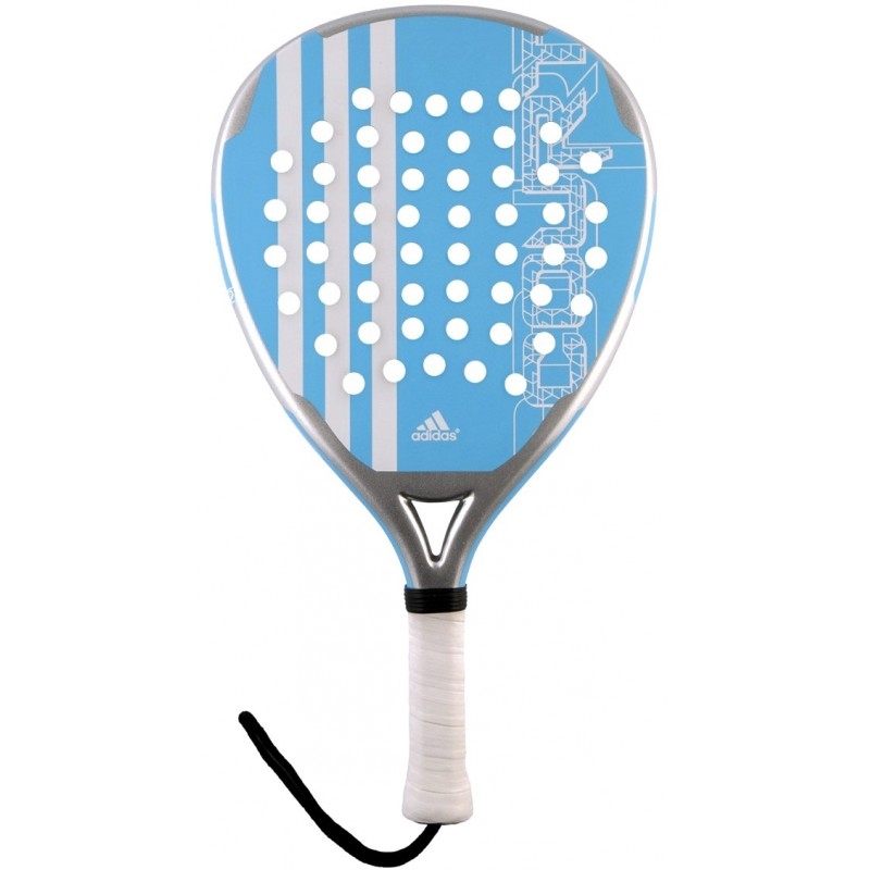cartucho Drástico Orientar  Pala de pádel Adidas Power Court Woman Blue