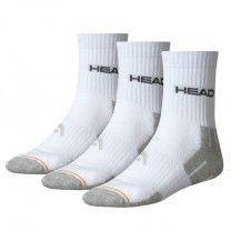 Pack de 3 pares de calcetines Head Performance Short Crew