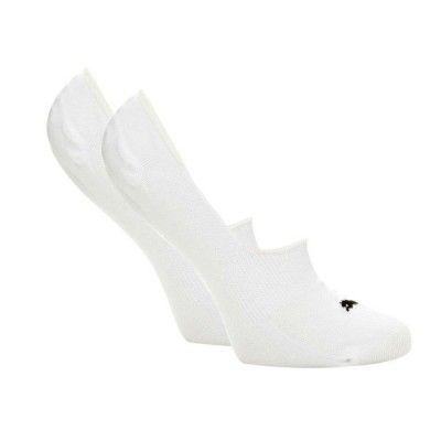 Pack de 2 pares de calcetines Puma Footie Blancos