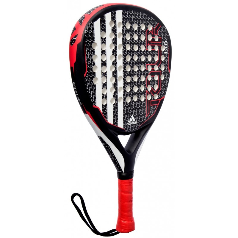 planes Credencial Subjetivo  Pala de pádel Adidas Power Attack Tour LTD Negra