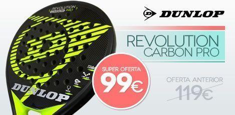 Promo de Navidad -- Dunlop Revolution Pro por sólo 99€