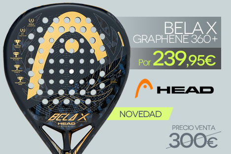Pala Head Graphene 360 + Bela X