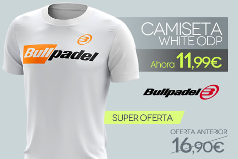 Camiseta Bullpadel / ODP White