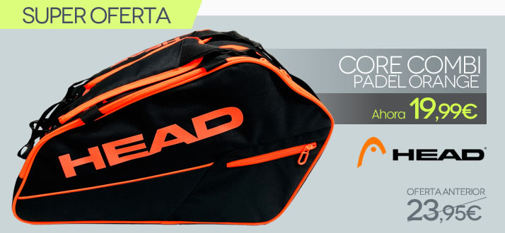 Paletero Head Core Pádel Combi SMU Orange