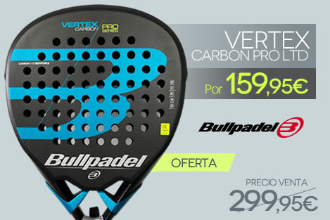 Pala BullPadel Vertex Carbon Pro LTD Blue