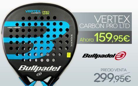 Pala BullPadel Vertex Carbon Pro LTD Blue