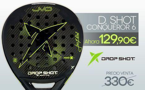 Drop Shot Conqueror 6.0 black LTD