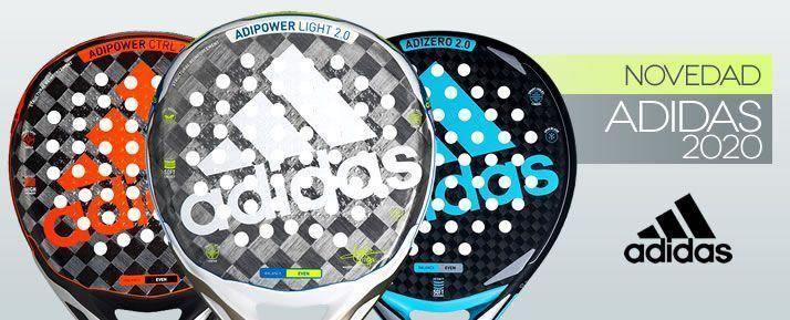Nuevas palas de pádel Adidas 2020