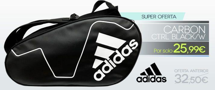Promo de Navidad -- Paletero Adidas Carbon Control Black / White por sólo 25,99 euros