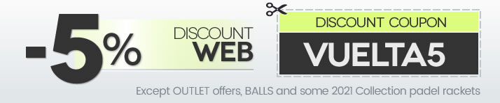 5% discount promotion on the web