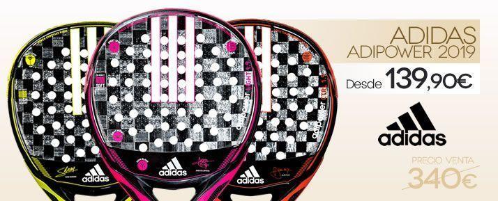 Rebajas en palas de pádel Adidas