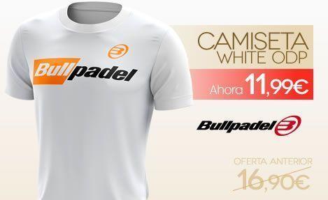 Rebajas Camiseta Bullpadel / ODP White