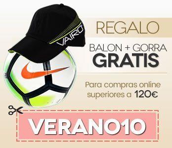 Regalo de Balon Nike Liga Santander + Gorra Vairo Columns