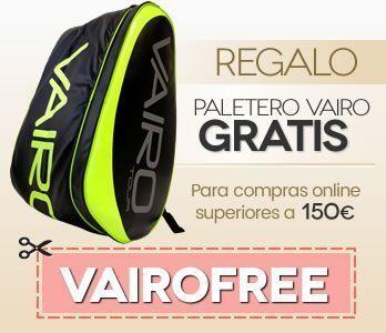 Regalo paletero VAIRO Tour por compras superioes a 150 euros