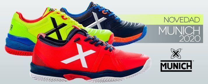 Nuevas zapatillas de pádel Munich 2020